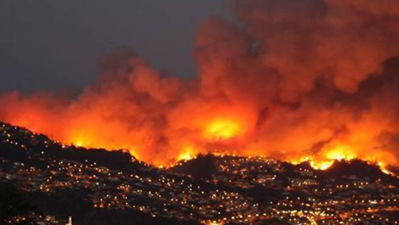 Bombeiros da região foram heróis no filme dos incêndios