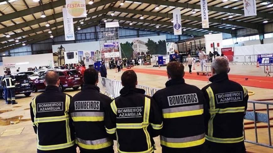 Participamos hoje pelo 2° dia na prova Firefighter Challenge nas Caldas da Rainha.
